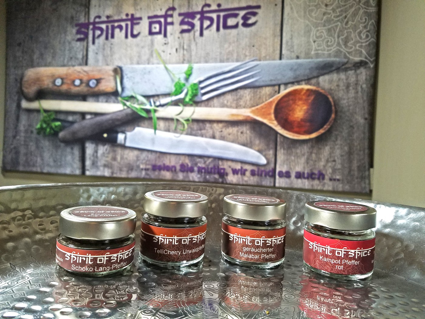 Edles Pfeffer-Set BASIC von Spirit of Spice