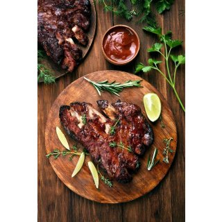 Rezept - Spareribs American Style mit BBQ grill to thrill RED