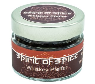 Whisky Pfeffer - Gewürzglas