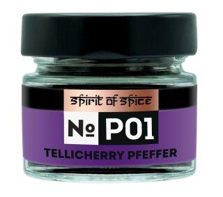 TelliCherry Urwaldpfeffer - Gewürzglas