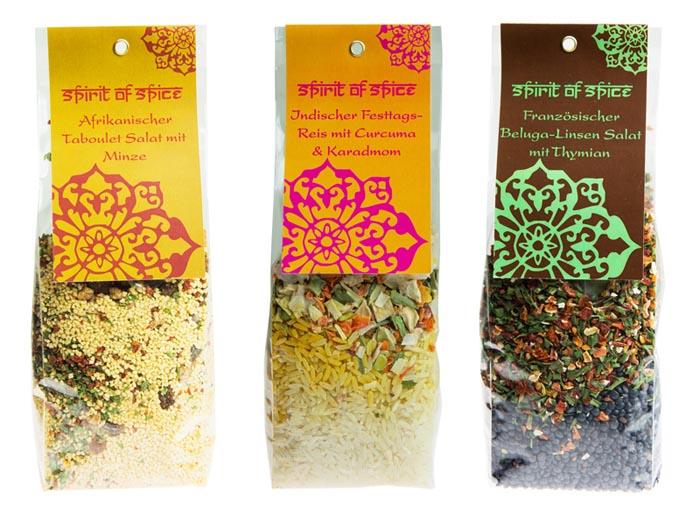 Gewürz Reis- und Slalat-Gerichte von Spirit of Spice