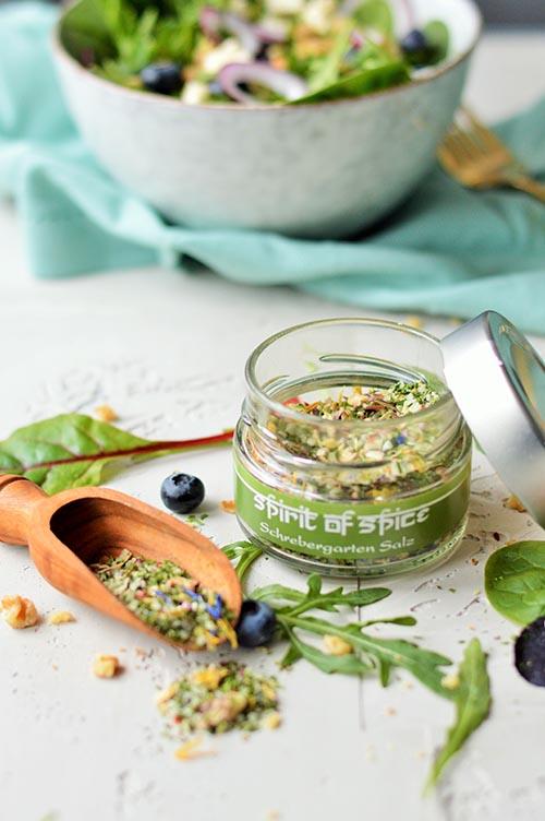 Spirit of Spice Schrebergarten-Salz und Wildkräuter-Salat