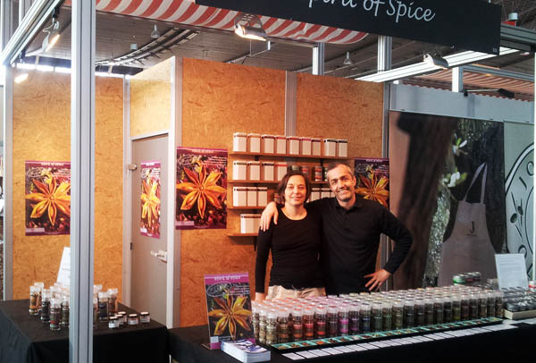 Aussteller Spirit of Spice auf der SlowFood Messe in Stuttgart