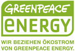 Stromlieferant Greenpeace Energy
