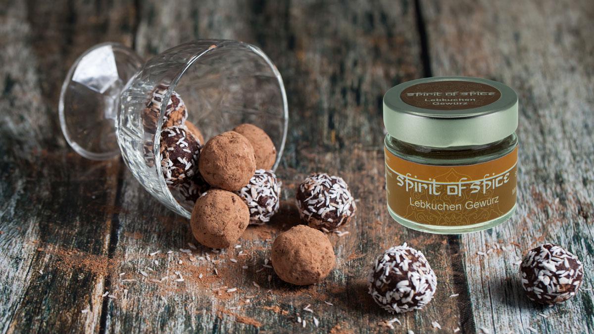 Spirit of Spice Rezept: Power Balls mit Lebkuchen Gewürz