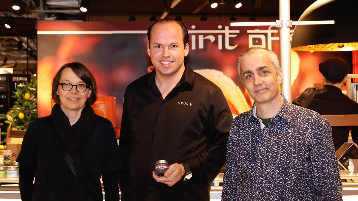 Foto Tristan Brand und Spirit of Spice kochen zusammen auf dem Zurheide Gourmet-Festival