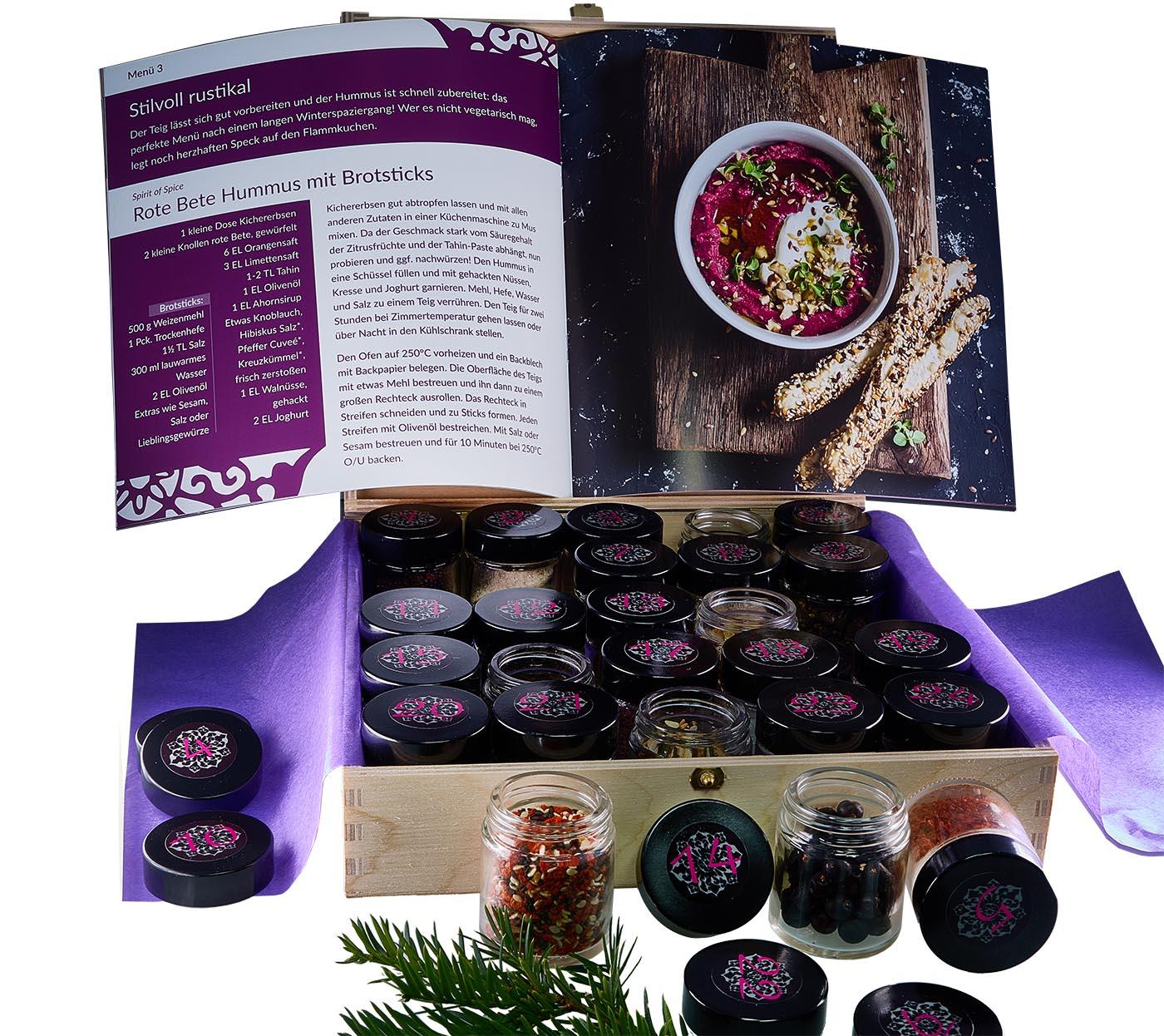 Gewürz-Adventskalender Spirit of Spice