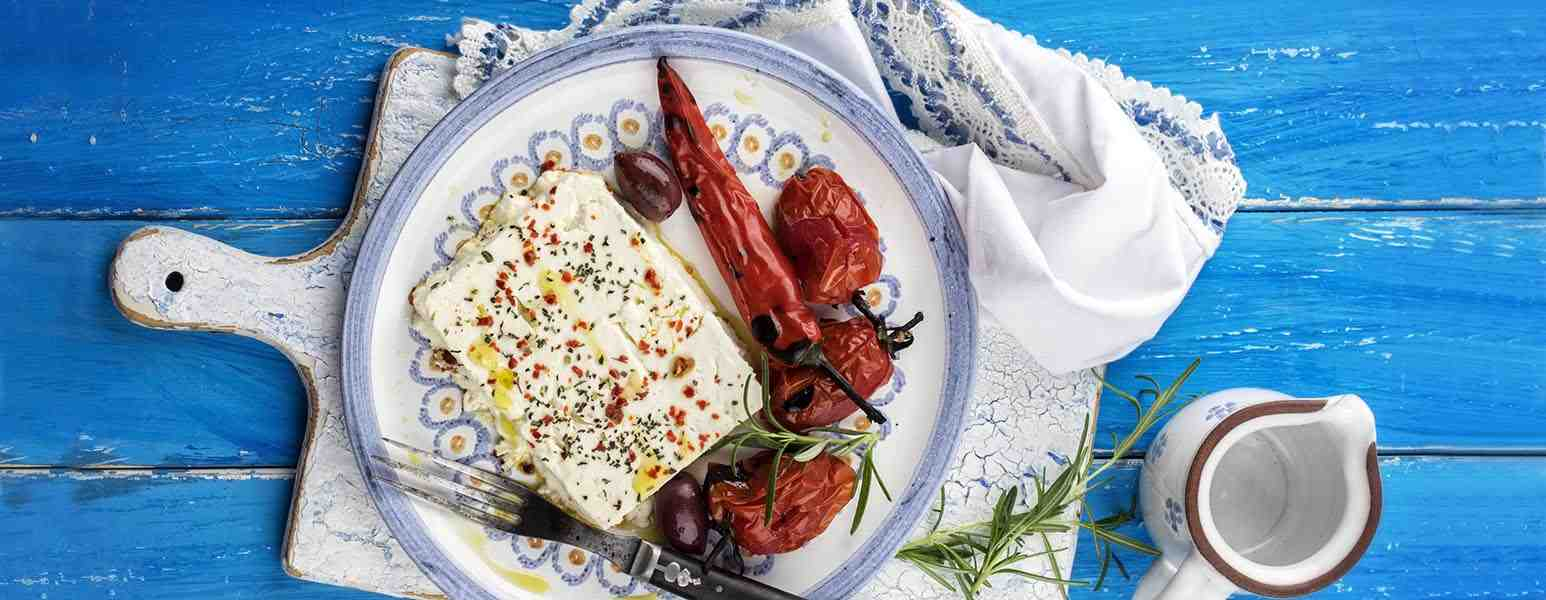 Weltbester BBQ Feta mit Grill to Thrill Green
